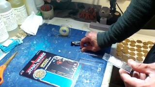RE-CARDING VINTAGE (POWER OF THE FORCE) ACTION FIGURES