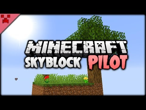 SKYBLOCK FOR MINECRAFT 1.14?! | SkyBlock (Minecraft Survival Let's Play) PILOT/Episode 1