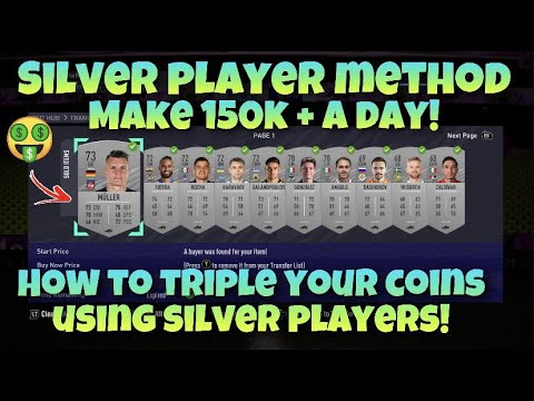 FIFA 21 SILVER TRADING METHOD - HOW TO TRIPLE YOUR COINS!!
