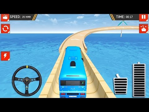Impossible Offroad Uphill Bus Stunt Racing Game | Bus Games | Bus Driving | Games For Kids