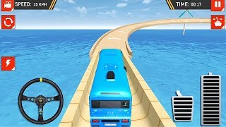 Impossible Offroad Uphill Bus Stunt Racing Game | Bus Games | Bus Driving | Games To Play