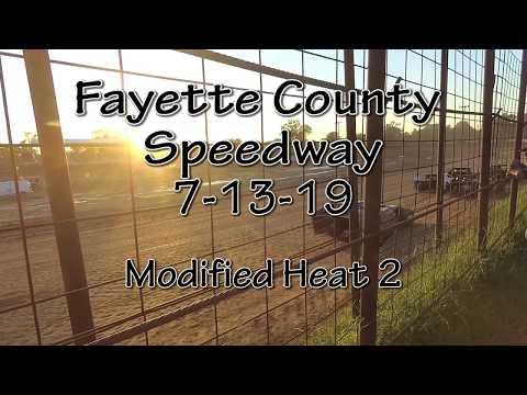 Fayette County Speedway  Modified Heat 2