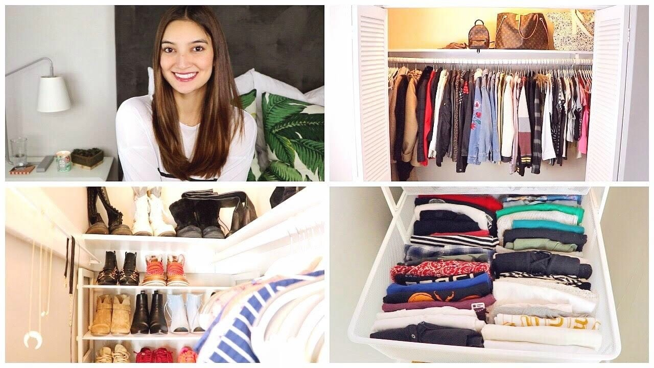 7fa19547f1629 updated closet tour!! (drawer closeups + organization) - YouTube