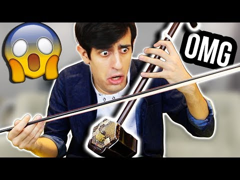 when you play an ancient instrument but you suddenly resurrect a MEME...
