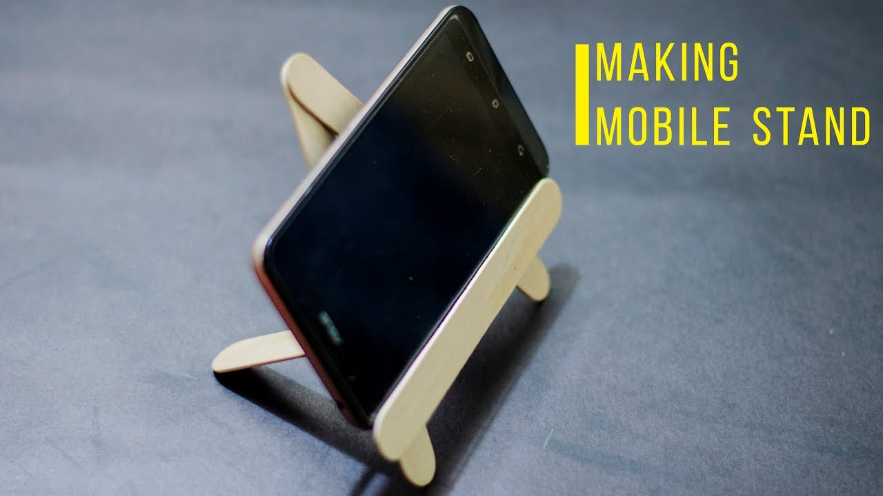 mobile phone stand how to use