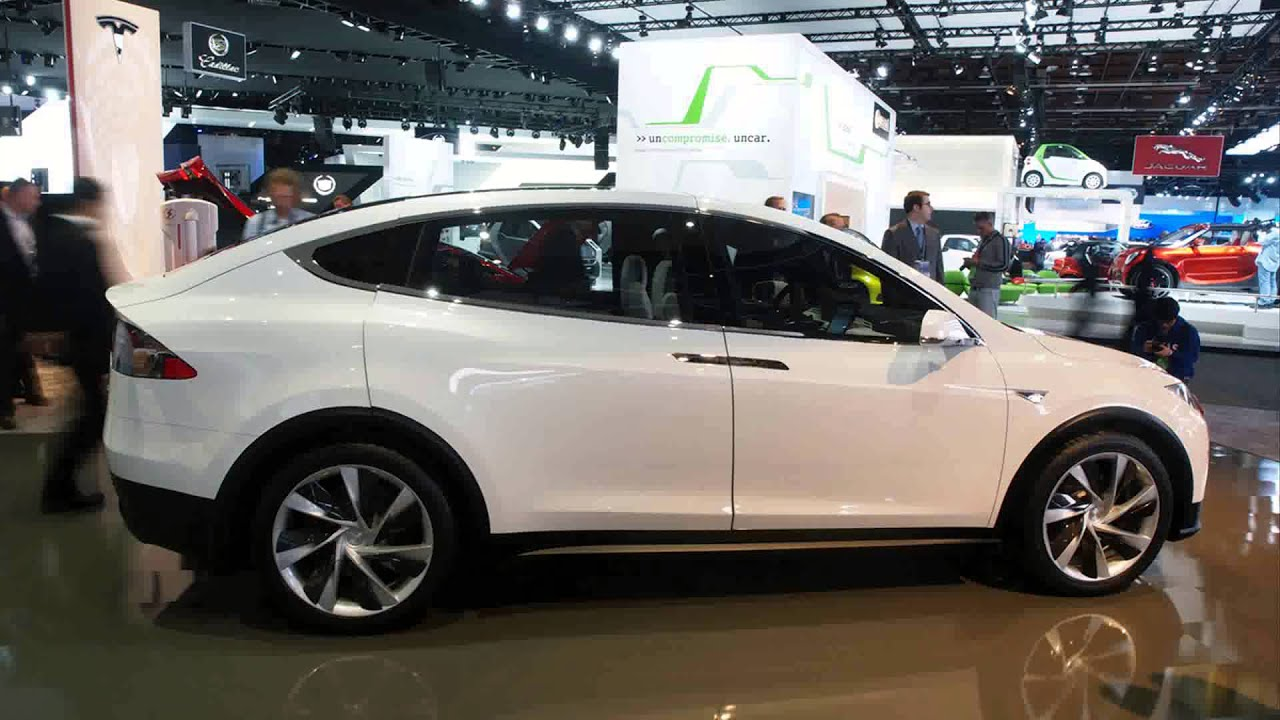 2015 Tesla Model X SUV