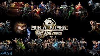 Mortal Kombat vs. DC Universe - RPCS3 TEST 2 (InGame / Playable?)