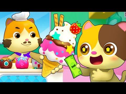 Magic Ice Cream Truck | Learn Colors, Numbers Song | Nursery Rhymes | Kids Songs | BabyBus