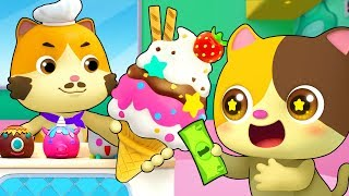 Magic  Ce Cream Truck  Learn Colors Numbers Song  Nursery Rhymes  Kids Songs  BabyBus