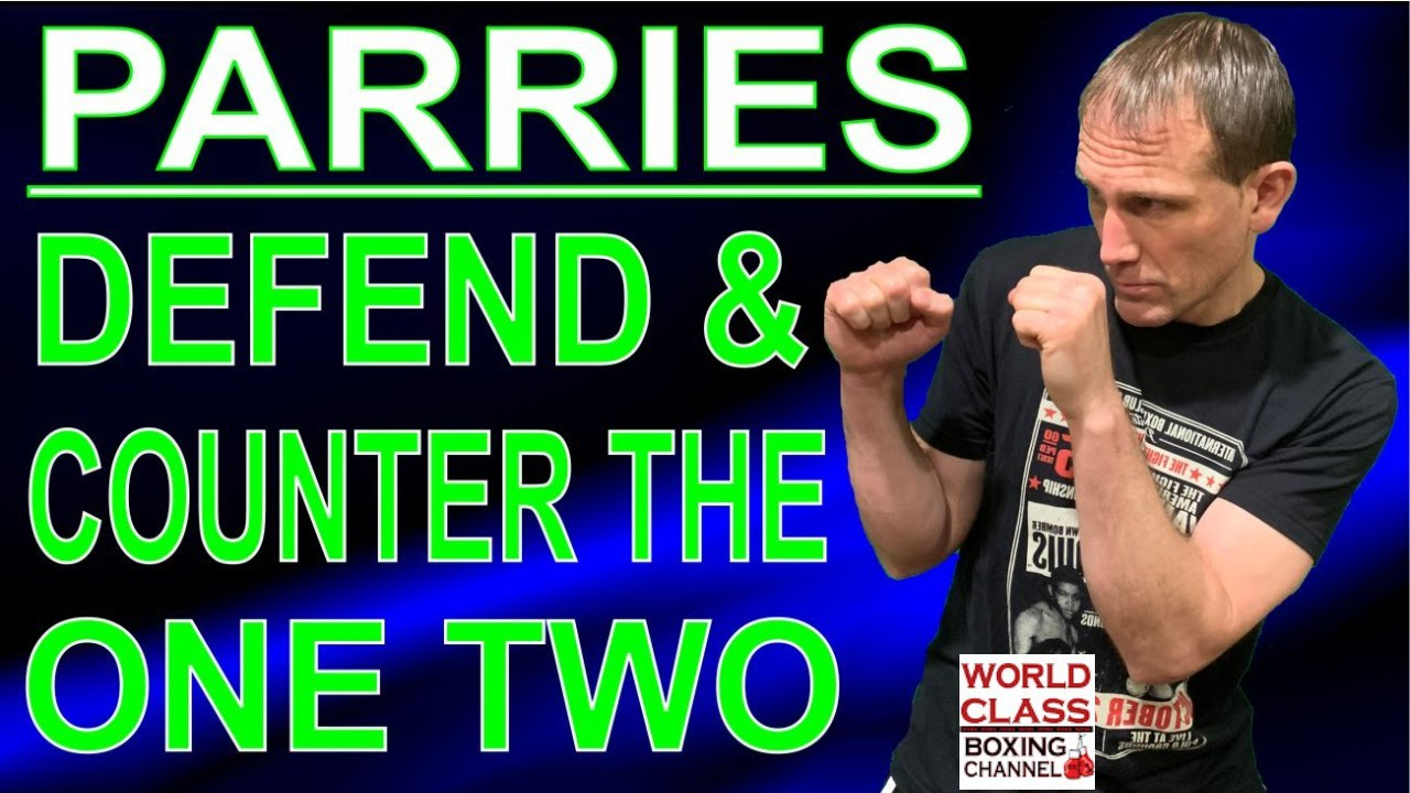 How To Defend and Counter the One Two Punch Using Two Parries
