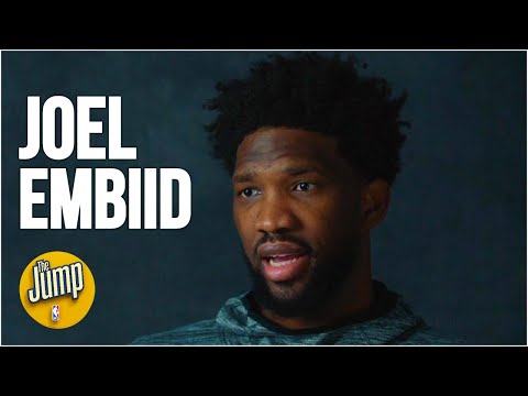 Joel Embiid exclusive interview on playing with Ben Simmons, talking trash  The Jump