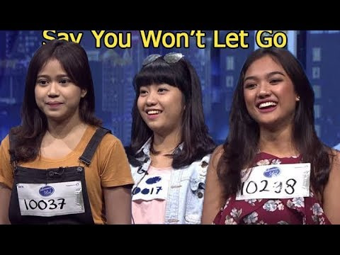 SAY YOU WON'T LET GO - Bianca Jodie VS Lala Marion Jola VS Ghea Indrawari