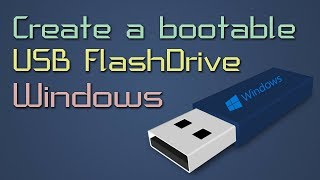 Install Windows XP/Vista/7/8/8.1/10 From Usb Flash Drive | Create a bootable USB Flash Drive