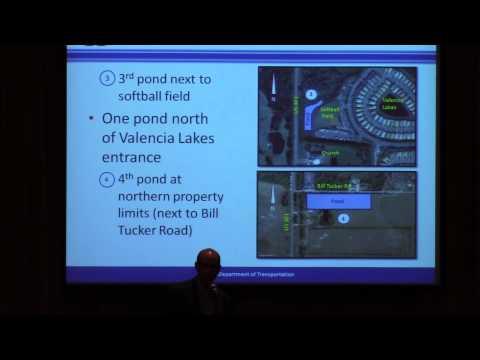 Valencia Lakes Community Club Meeting../..FDOT U.S. Hwy. 301 Expansion Plans