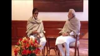 Film Actor Amitabh Bachchan calls on PM Modi