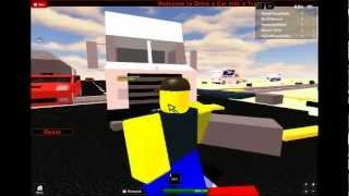 Roblox Drive a Car into a Train!.wmv