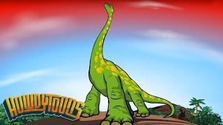 Brachiosaurus Song Sing-Along | Dinosaur songs from Dinostory by Howdytoons