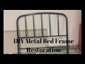 | DIY Metal Bed Frame Restoration | Carissa Cantu