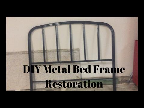 | DIY Metal Bed Frame Restoration | Carissa Cantu