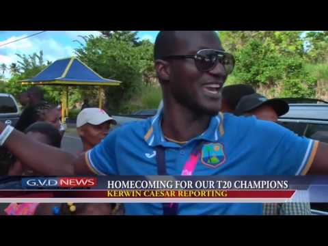 How Darren Sammy  celebration In home after winning t20 world cup 2016