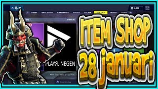 | FORTNITE NL/BE | ITEM SHOP 28 January 2019 | * NEW * MALCORE skin! | Playr Nine (English)
