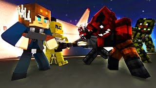 Five Nights At Freddy's - ANIMATRONIC GANG WAR! (Minecraft Roleplay) S2 Episode 4