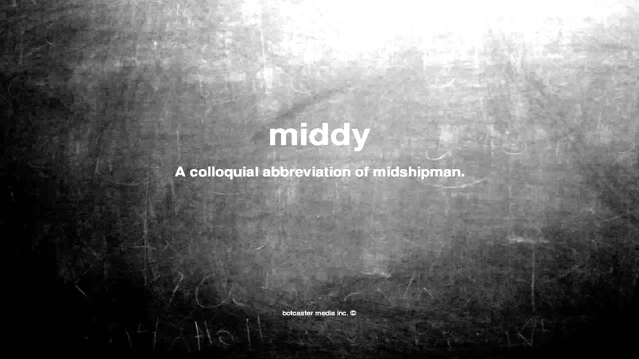What Does Middy Mean