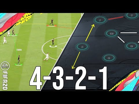 FIFA 20 - Why 4321 Is A New Meta Attacking Formation To Give You Wins & Score More Goals(TACTICS)