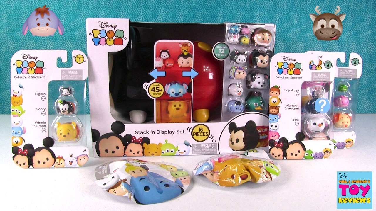 Disney Tsum Tsum Mystery Stack Pack Series 2 Mickey Mouse Figure NEW