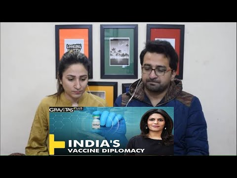 Pakistani Reacts to Gravitas Plus: India sets an example with Vaccine Maitri