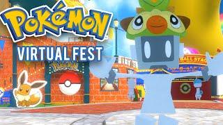 Pokémon VR Fan Festival Tour! - Pokémon Virtual Fest 2020!