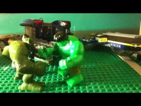 How to make Lego Hulk Papercraft - 4. Body | Doovi