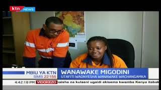 Wanawake wa migodini: Utafiti waoyesha wanawake wachangamka katika sekta hii