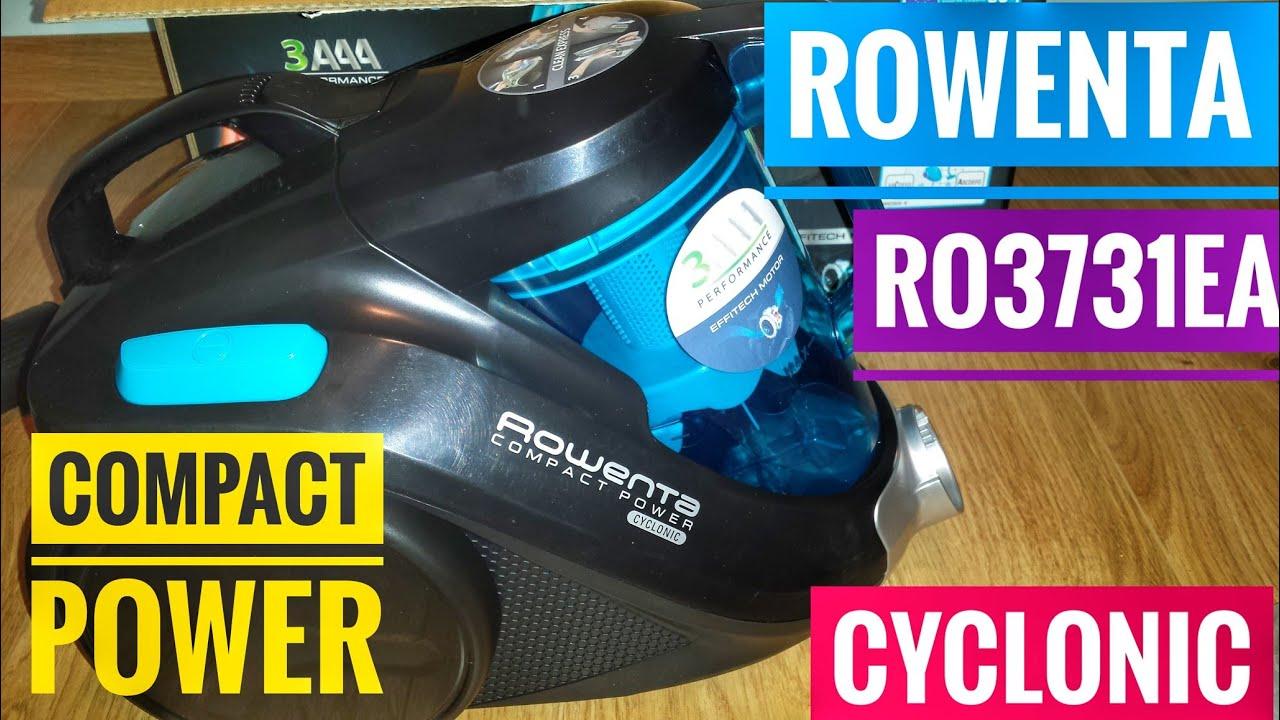 Rowenta Ro3731ea Cyclonic Compact Power Vacuum Cleaner Youtube
