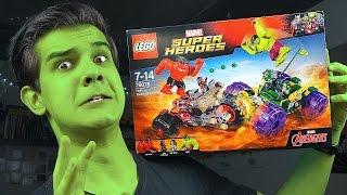 LEGO Marvel: ЧЕТЫРЕ ХАЛКА - Набор На Обзор (76078)