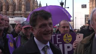 Gerard Batten & Neil Hamilton interview Westminster 14th March 2019