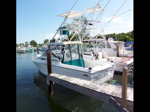1985 Baha Cruisers Weekend Tournament Fisherman 28 for sale Annapolis Maryland -Obsession