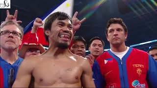 Micheal Buffer Delivers Legendary Manny Pacquiao Ring Announcement With Highlights
