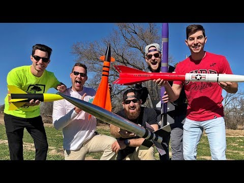 Modell Raketen Duell | Dude Perfect