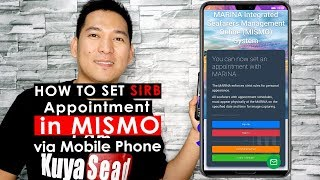 How to set your SIRB appointment in MISMO via Mobile Vlog#022