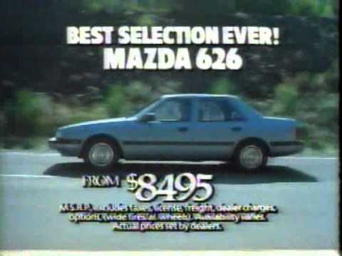 1985 Southern California Mazda Dealers Commercial