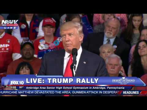 FULL VIDEO: Donald Trump Rally in Ambridge, Pennsylvania - FIRST SPEECH Since Second Debate - FNN