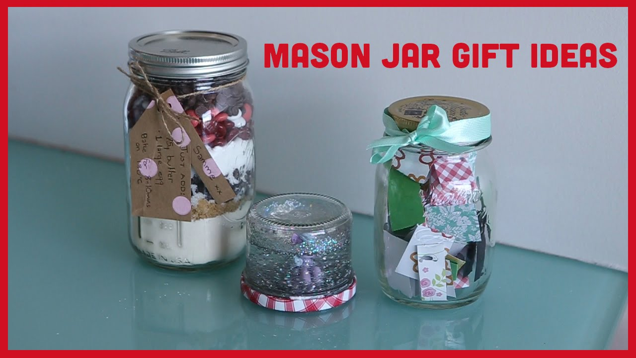 mason jar gift ideas christmas vlogs youtube