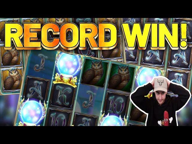 RECORD WIN! Rise of Merlin BIG WIN - Casino Games from CasinoDaddy