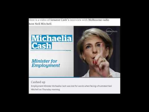 """I don't have a figure"": Michaelia Cash admits no data on minimum wage in high income homes claim"