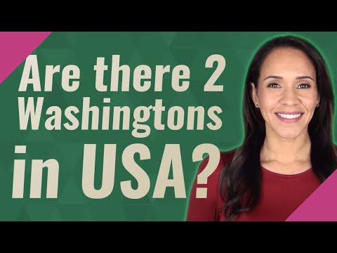 Are there 2 Washingtons in USA?