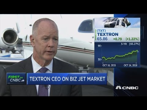Textron CEO: Business confidence the main driver of jet industry