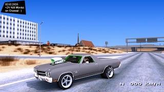 1970 Chevrolet El Camino SS Drag - GTA San Andreas 1440p / 2,7K 60FPS