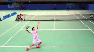 Gengo Kikuchi (JPN) Tennis Japan League 2016 #1