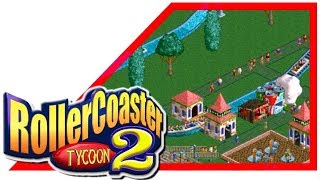 ●🎮 ROLLERCOASTER TYCOON 2: Triple Thrill Pack 【 PC Steam Gameplay - First Minutes】